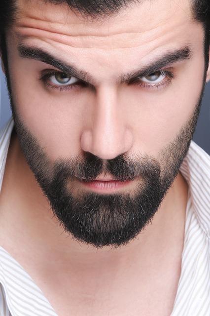 おしゃれな髭